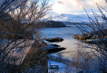 Winter view from Seascape Skyescape